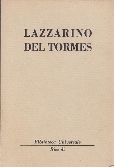 LAZZARINO DEL TORMES