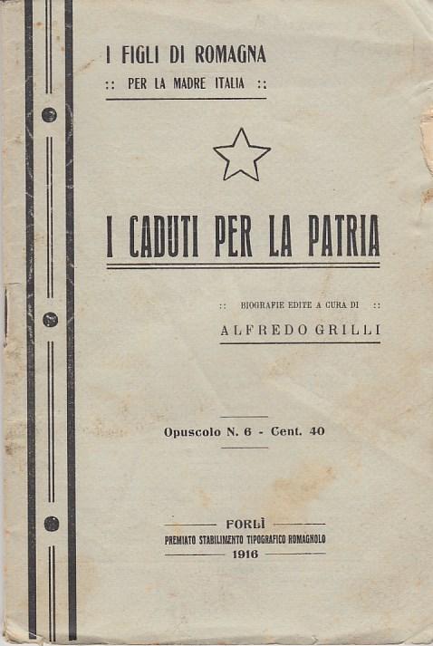 I caduti per la patria. Renato Serra