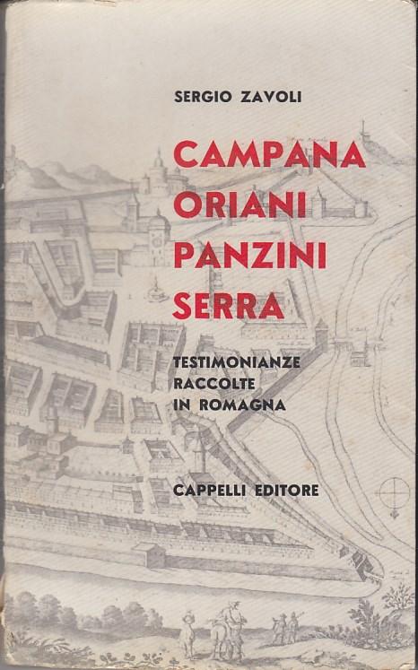 Campana Oriani Panzini Serra. Testimonianze raccolte in Romagna